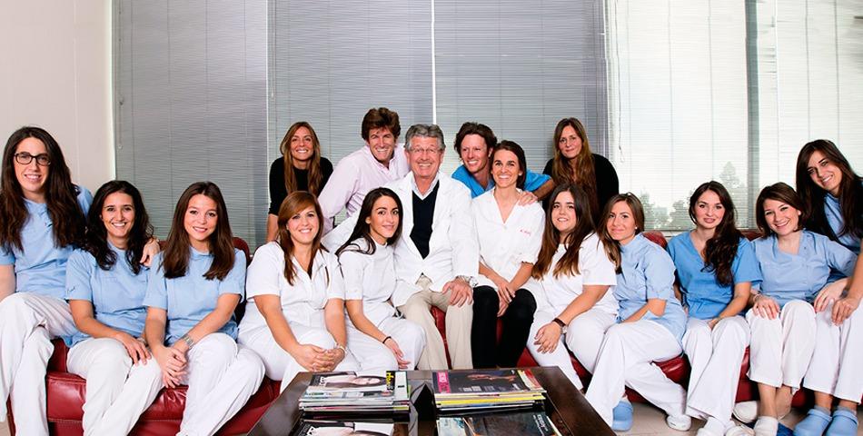 Foto de familia de Gross Dentistas