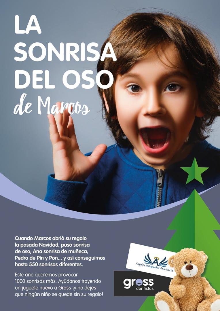 Recogida de juguetes en Gross Dentistas para ángeles de la noche