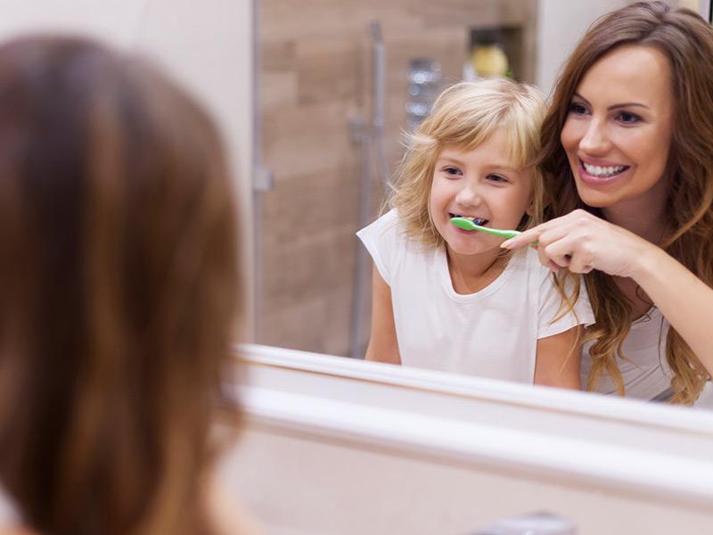 Higiene bucal infantil